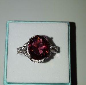 Beautiful Ruby gemstone ring size 9 brand new